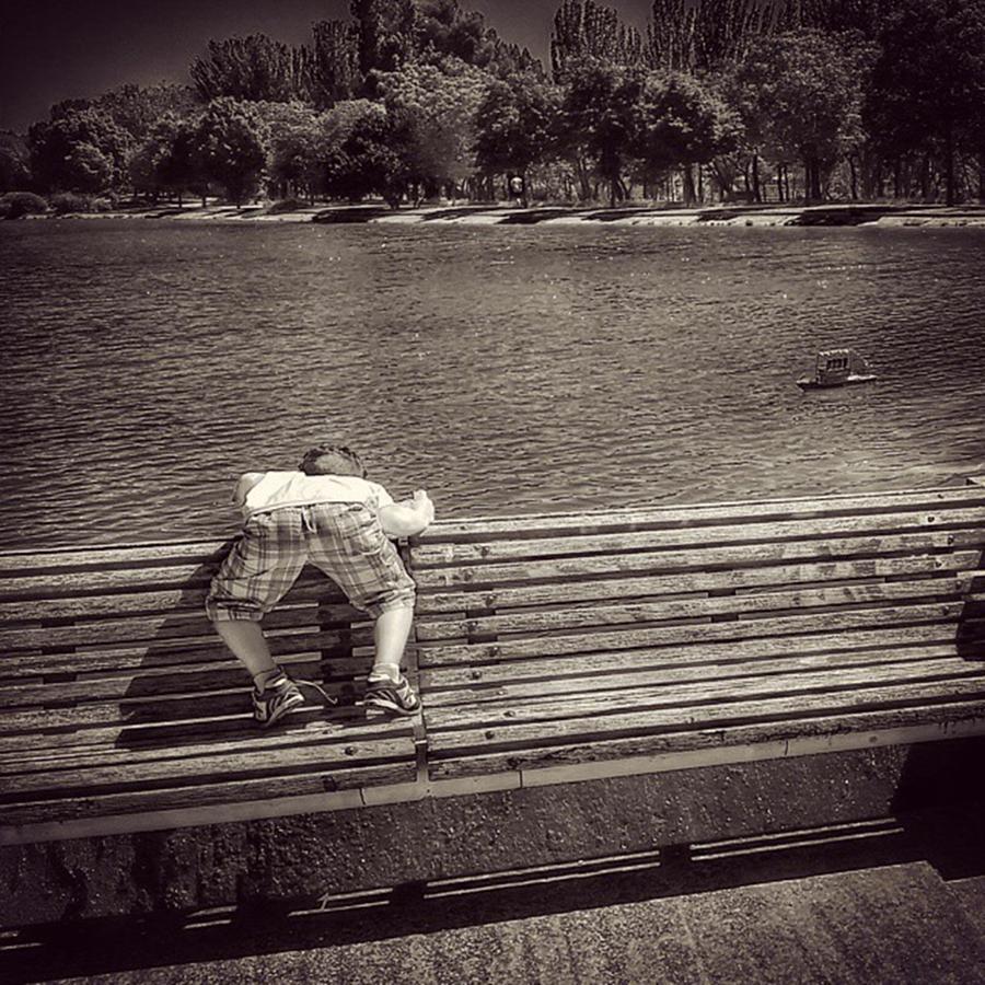 Urban Photograph - Sailor Boy by Rafa Rivas