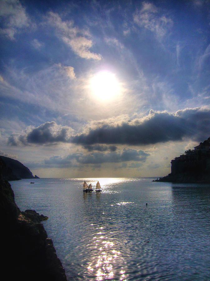 Landscape Photograph - Sailors by Bora Oztunc