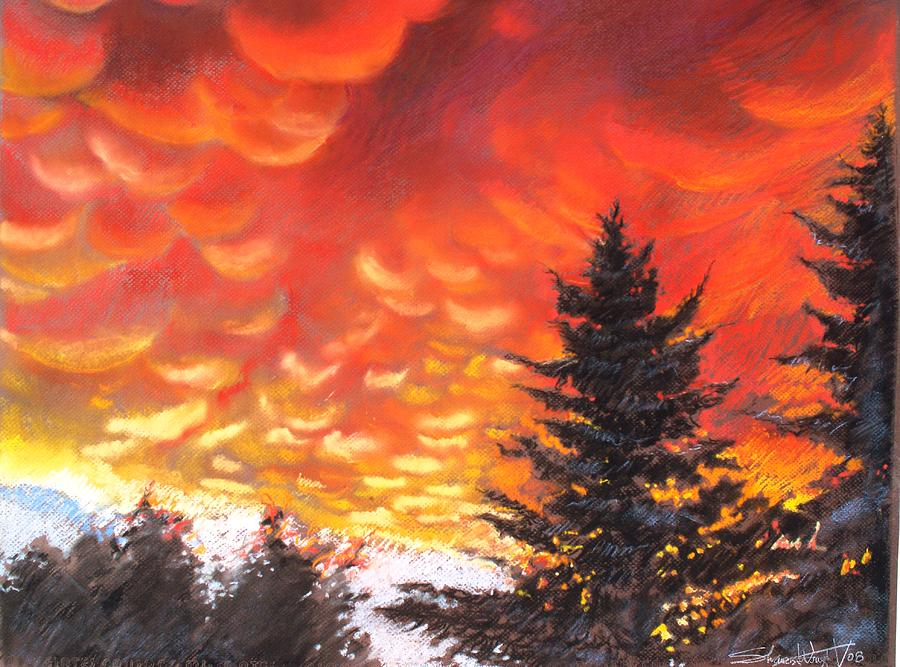 Sailors Delight Pastel by Sharon Wright