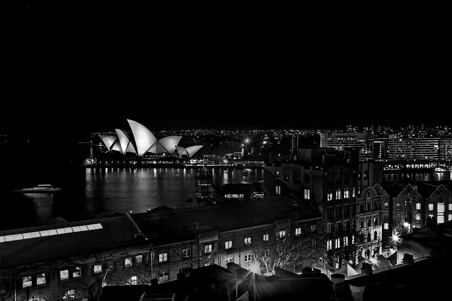 Sails In The Night Photograph