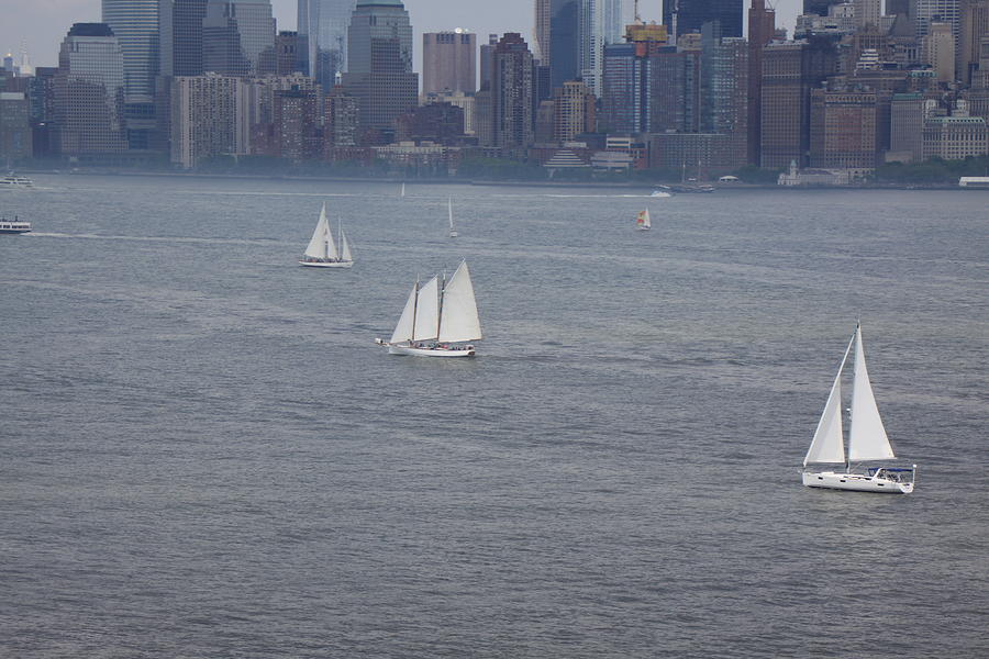 Sails On The Harbor No. 2 Photograph by Parker ODonnell