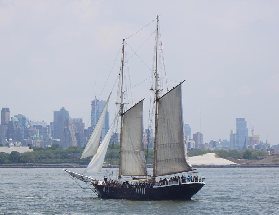 Sails On The Harbor Photograph by Parker ODonnell