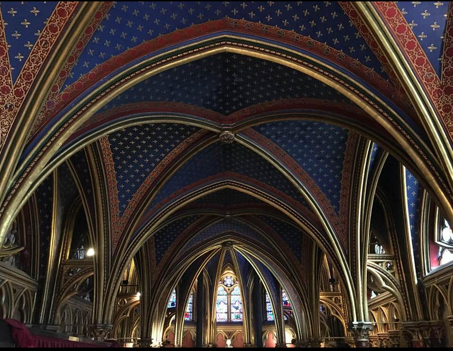 Saint Chapelle Arches by Daniele Smith