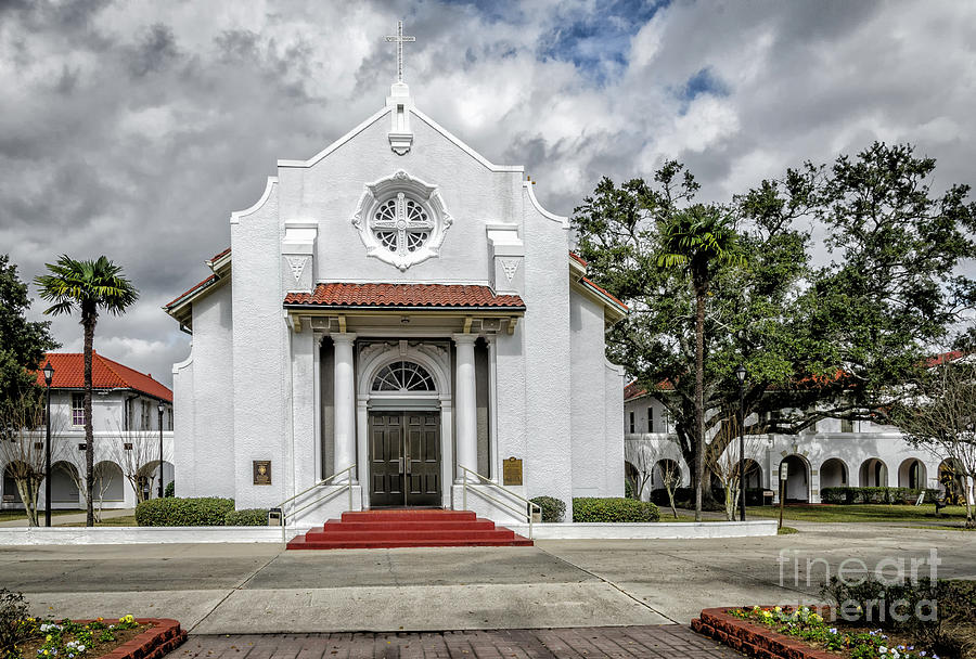 Saint Charles Borromeo Catholic Church, La Photograph