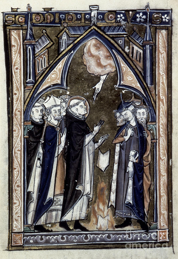 1275 Painting - Saint Dominic by Granger