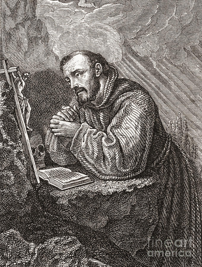 Saint Francis Of Assisi Painting - Saint Francis Of Assisi by Lodovico Cardi