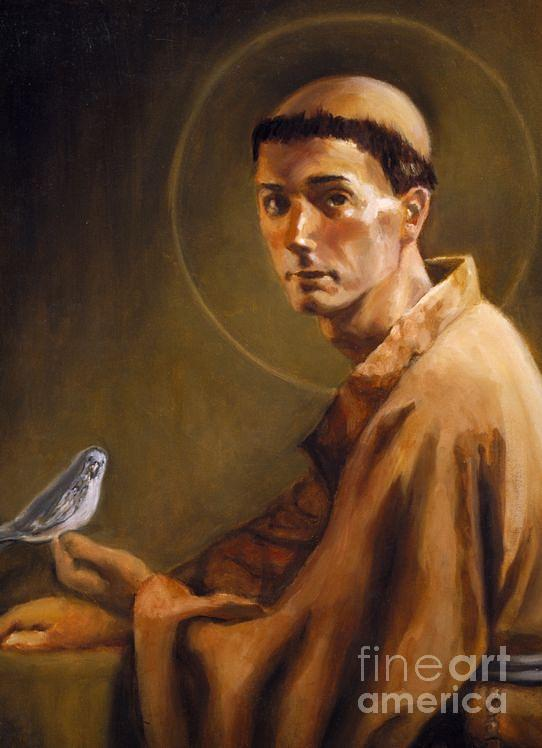 Saint Francis Of Assisi Painting - Saint Francis Of Assisi by Mark Sanislo