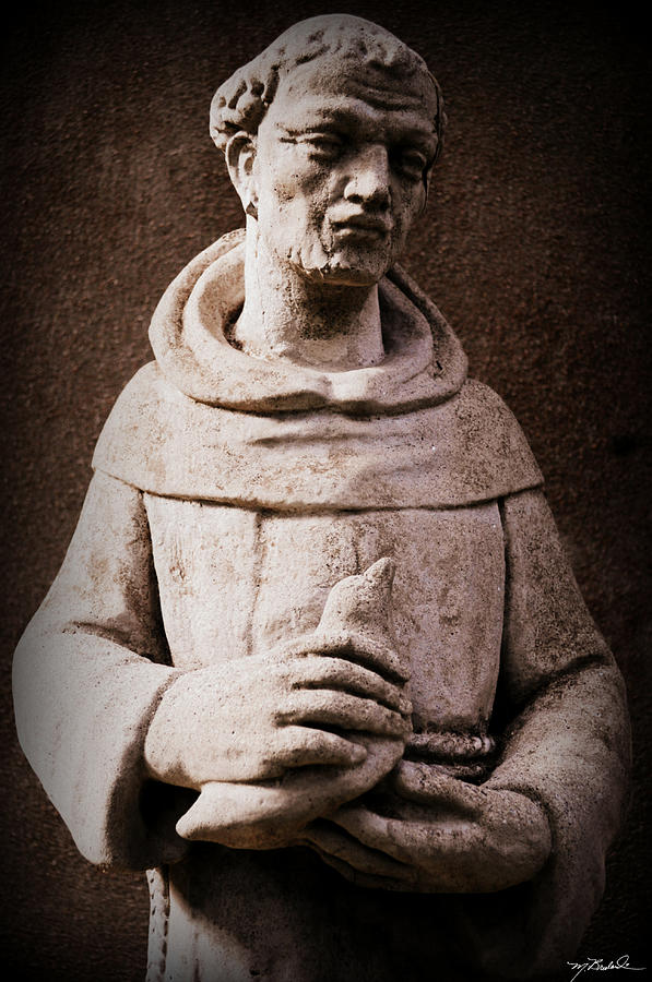 saint Francis Of Assisi Photograph - Saint Francis Of Assisi  by Melissa Wyatt