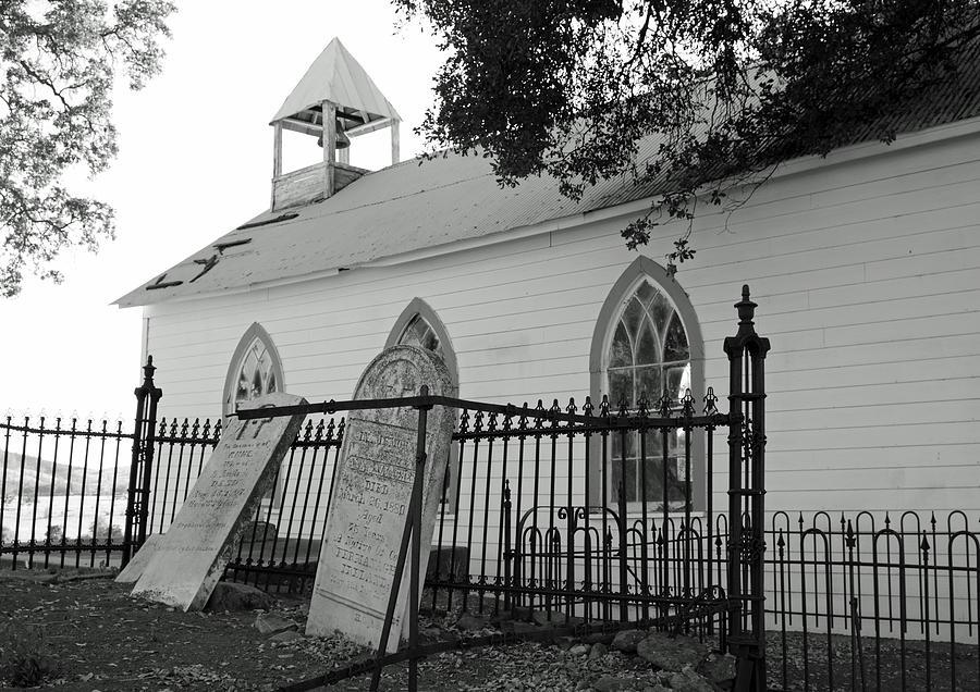 Architecture Photograph - Saint Francis Xavier Catholic Church by Troy Montemayor