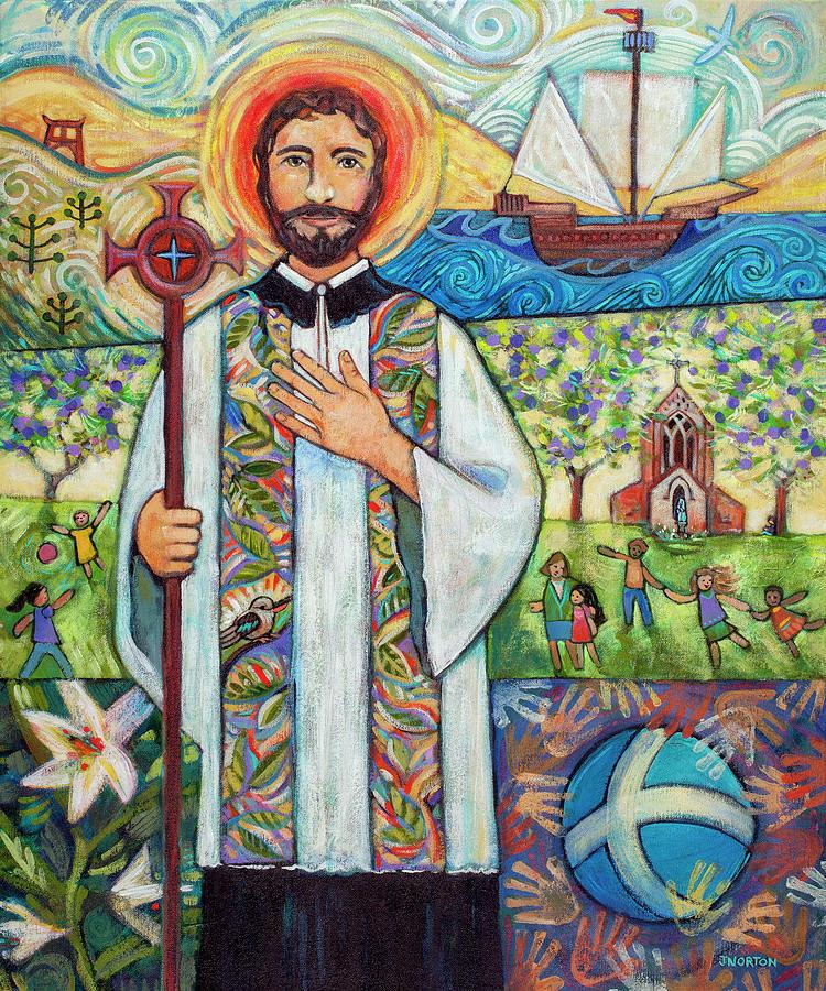 Saint Francis Xavier Painting