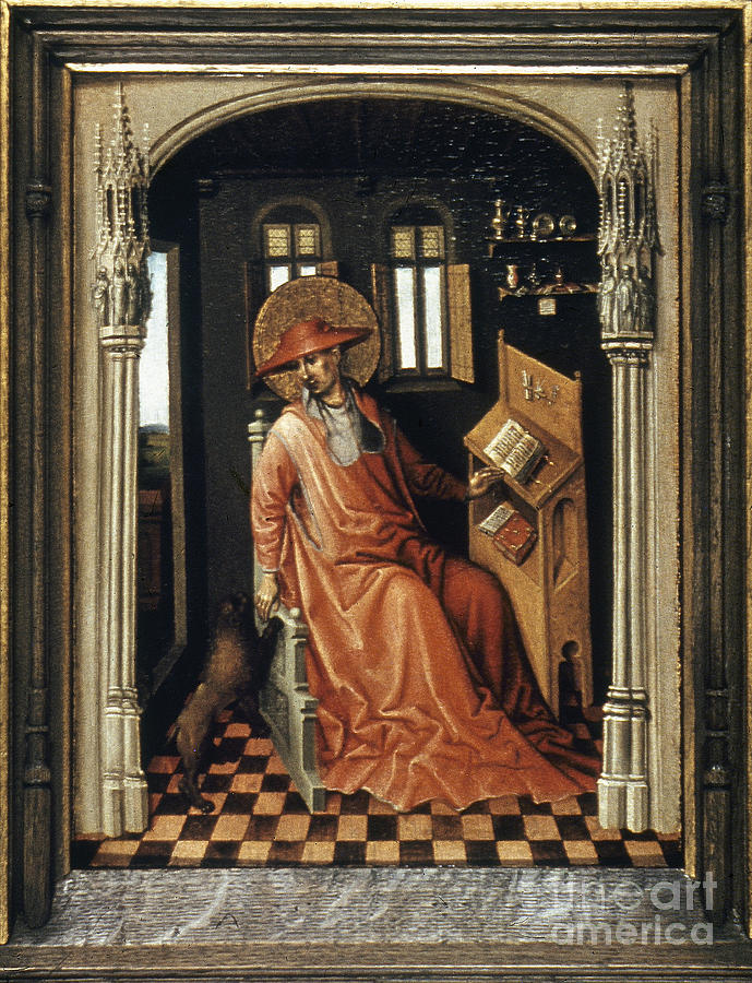 1440 Painting - Saint Jerome (340-420) by Granger