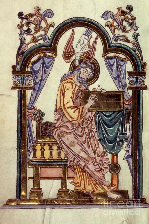 11th Century Painting - Saint John by Granger