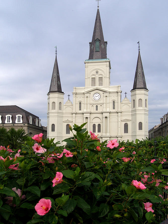 New Orleans Photograph - Saint Louis Cathederal 1 by Jack Herrington