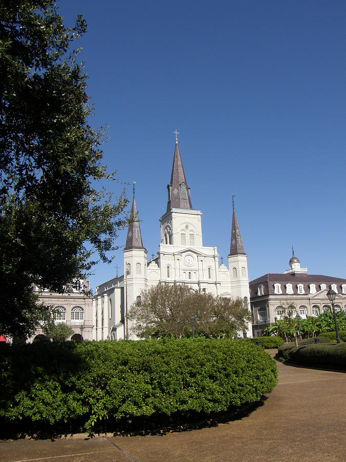 New Orleans Photograph - Saint Louis Cathederal 2 by Jack Herrington