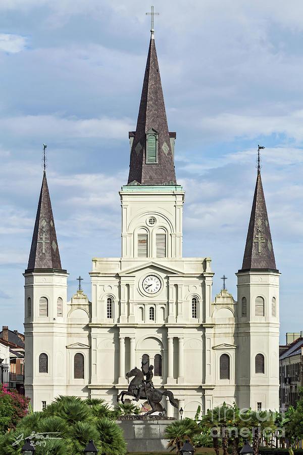 Saint Louis Cathedral 2 Photograph by Jeffrey Stone