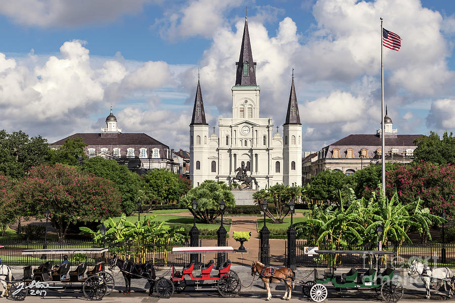 Saint Louis Cathedral Photograph by Jeffrey Stone