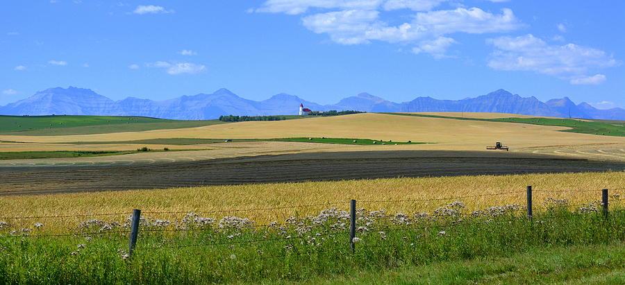 Landscape Photograph - Saint Henrys Panorama by Ed Mosier