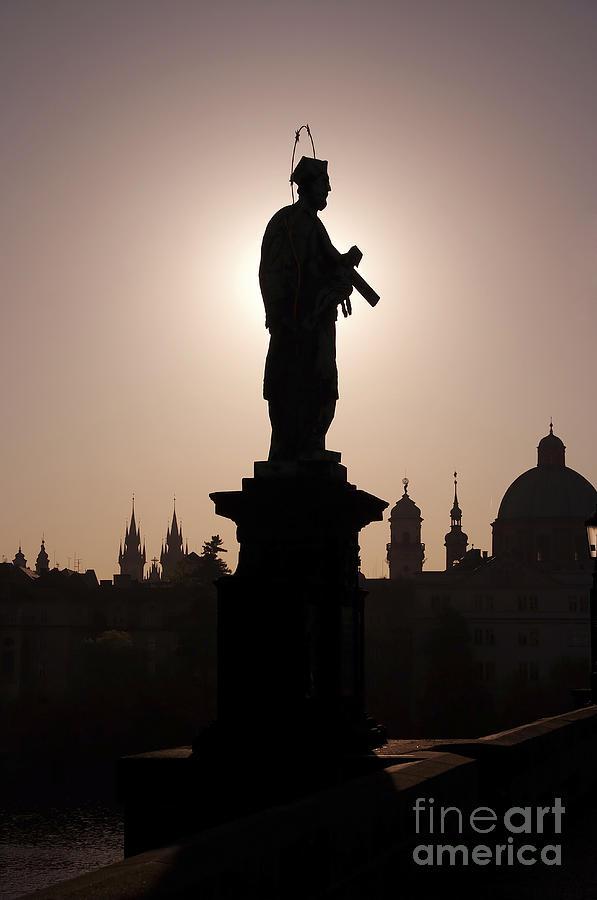 Prague Photograph - Saint by Michal Boubin