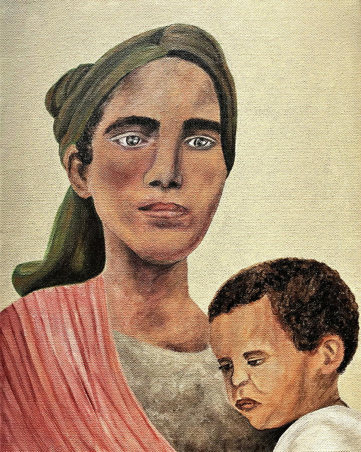 Mother Painting - Saint Mother by Mikayla Ruth Koble