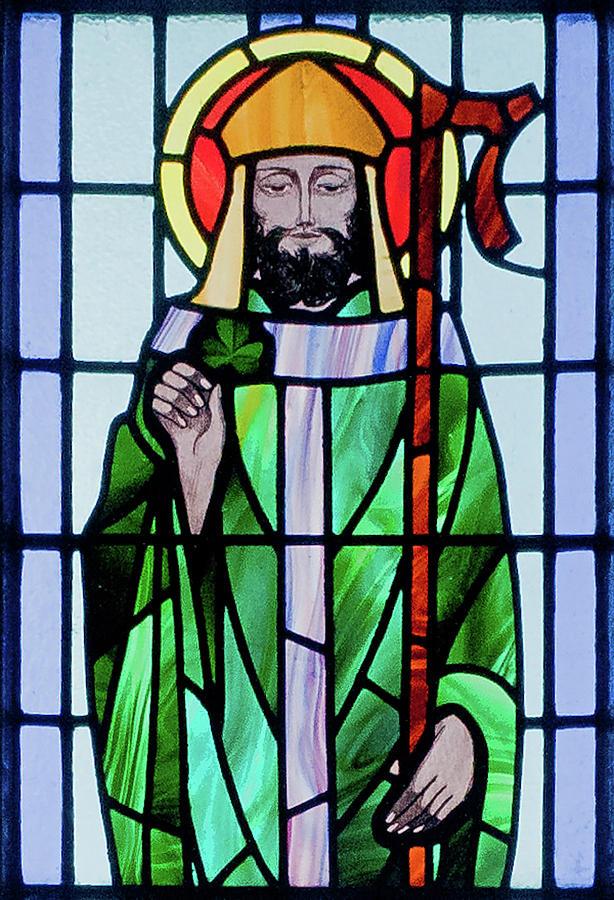 Saint Patrick Window by Ellen Henneke