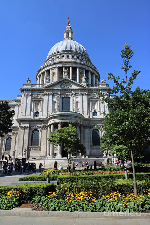 Saint Pauls Cathedral London by Julia Gavin