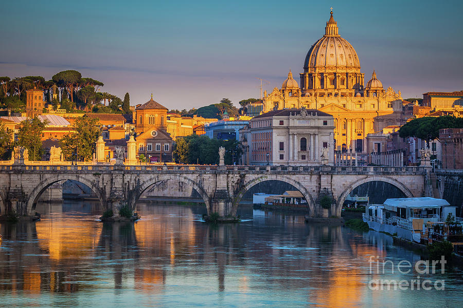 Christianity Photograph - Saint Peters Basilica by Inge Johnsson