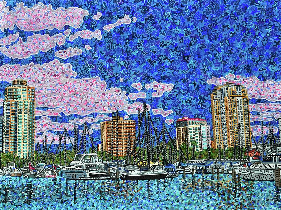 Saint Petersburg Painting - Saint Petersburg, Florida by Micah Mullen