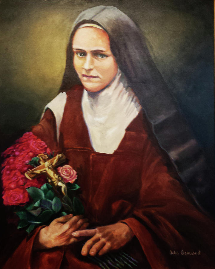 saint therese Are you feeling two feet tall at times prayers to st therese of lisieux can help brighten your day come read about her little way to holiness sometimes just a smile can bring you closer to god.