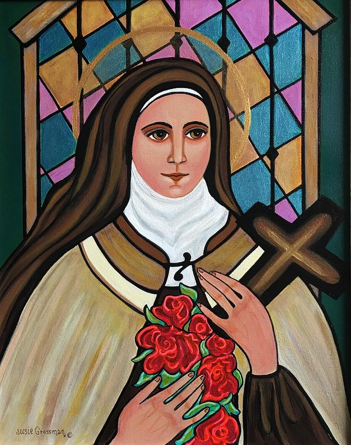 Saint Therese of Lisieux by Susie Grossman