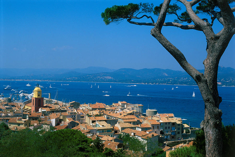 Horizontal Photograph - Saint-tropez - Provence by Martial Colomb