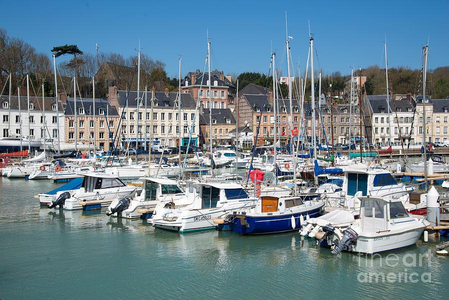 Harbor Photograph - Saint Valery En Caux by Delphimages Photo Creations