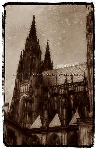 Cathedral Photograph - Saint Vitus Cathedral  Prague by K Randall Wilcox