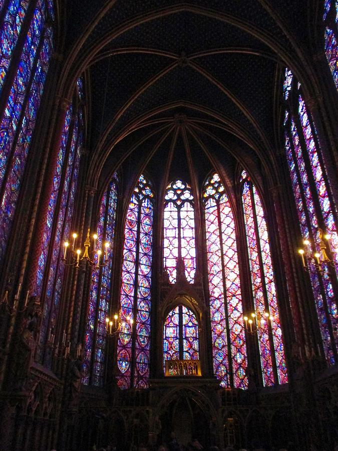 Sainte-Chapelle by Christopher Kirby