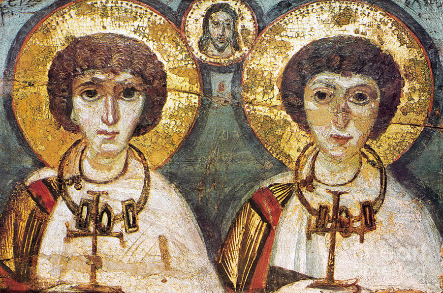 7th Century Photograph - Saints Sergius And Bacchus by Granger