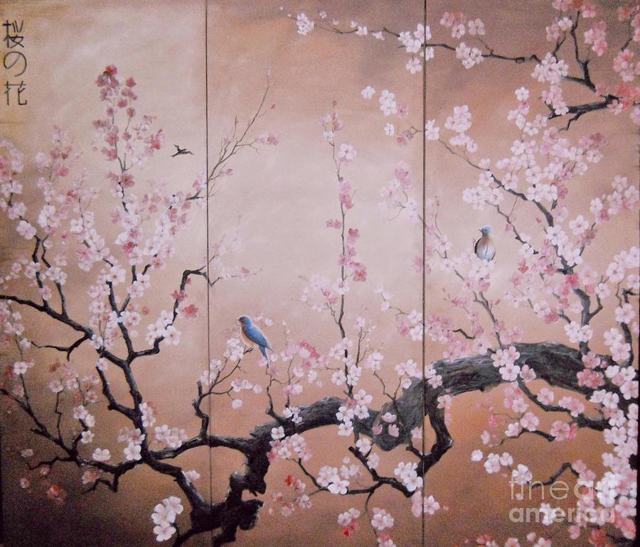 SAKURA - cherry trees in bloom by Sorin Apostolescu
