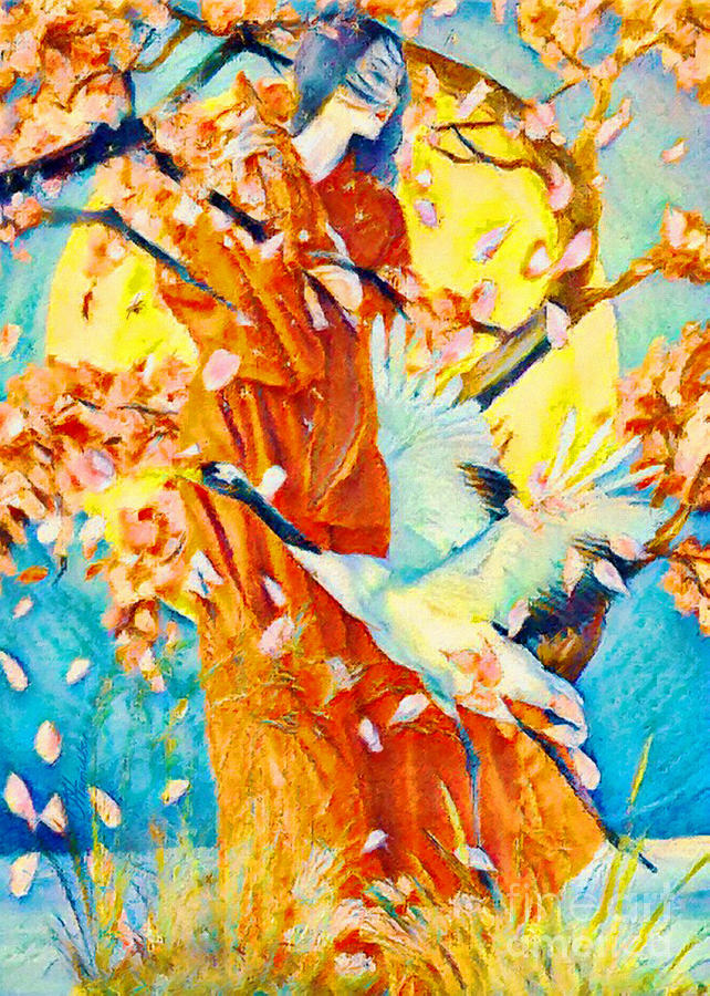Sakura Song by Olga Hamilton