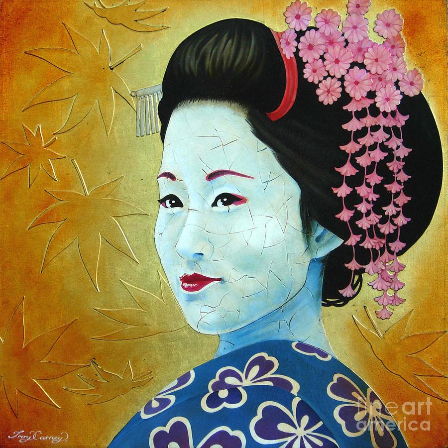 Sakura Painting - Sakura by Troy Carney