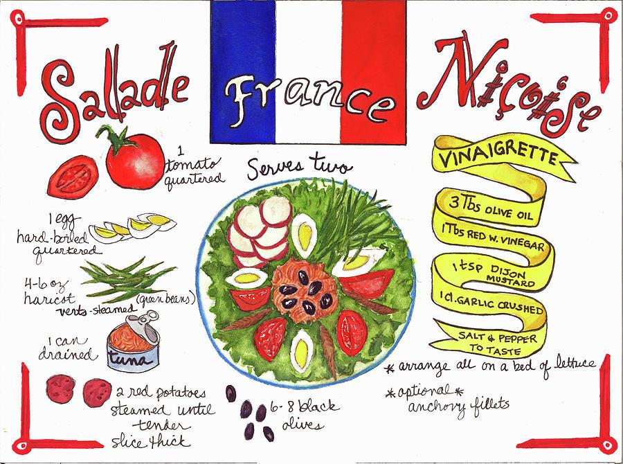 Salade Nicoise by Diane Fujimoto