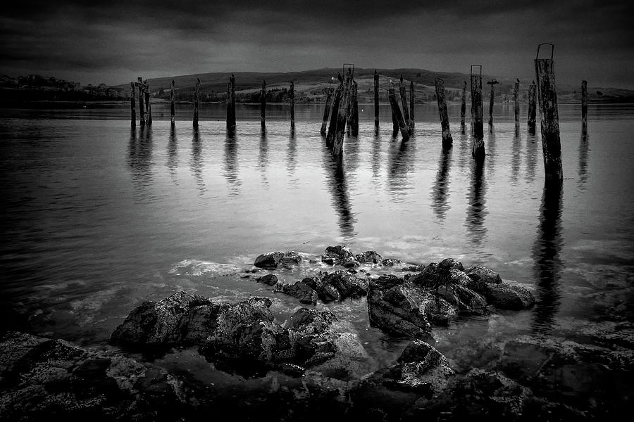 Isle Of Mull Photograph - Salen Pier, Isle of Mull by Peter OReilly