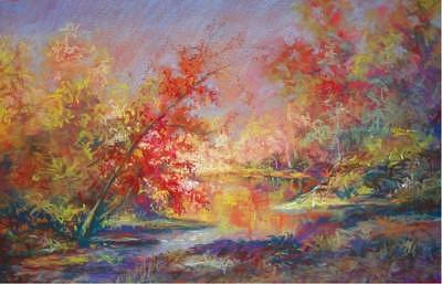 Pastel Painting - Saline River View by Marlene Gremillion