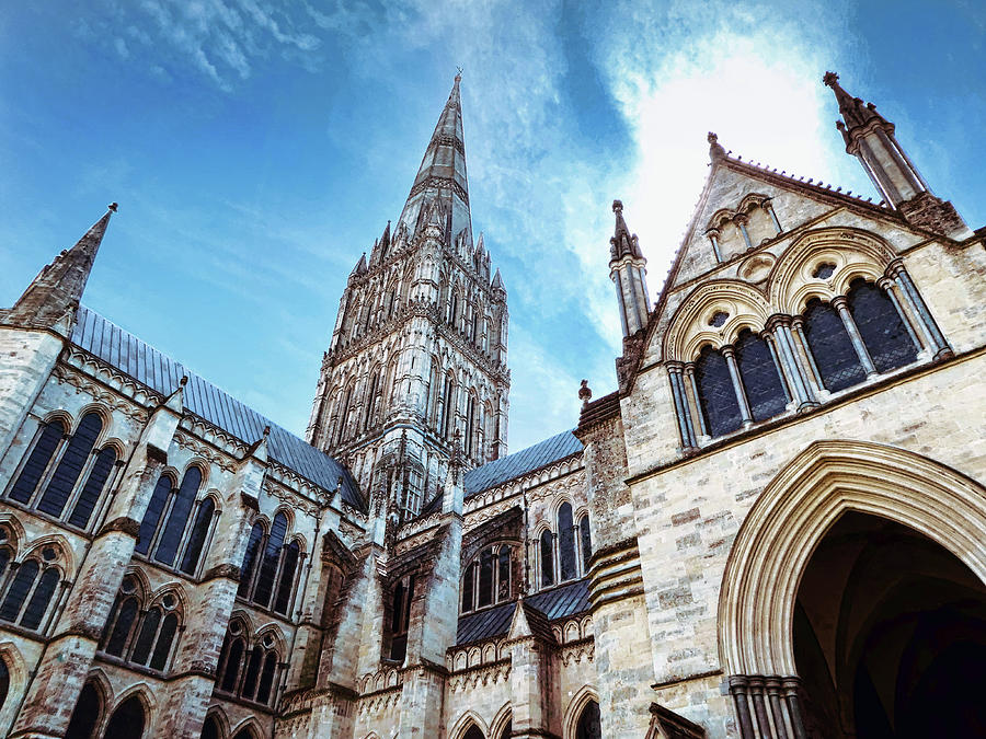 Salisbury Cathedral by Nora Martinez