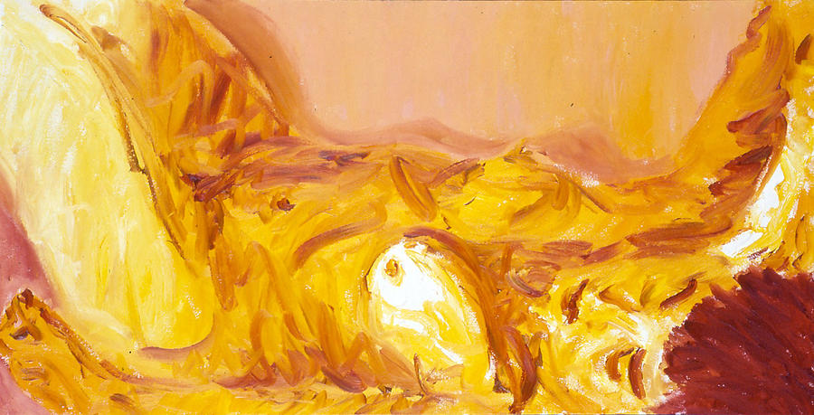 Figurative Painting - Salle De Bain Iv by LB Zaftig