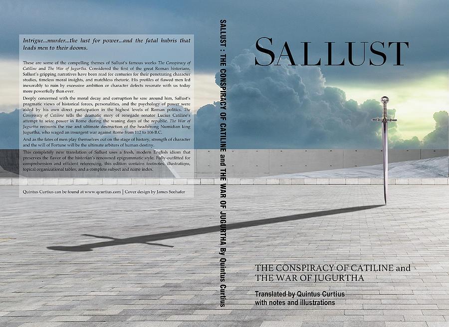 Sallust Cover Digital Art by Quintus Curtius