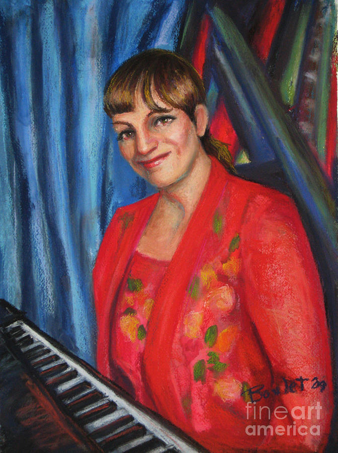 Musician Painting - Sally Ann by Beverly Boulet