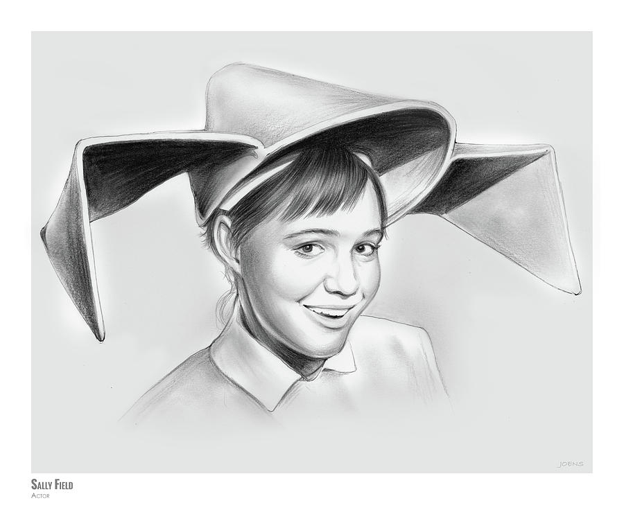 Sally Field Drawing