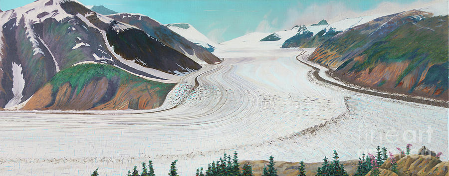 Salmon Glacier, Frozen Motion by Stanza Widen