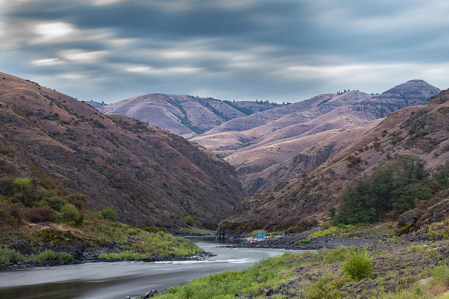Salmon river by Mike Bachman