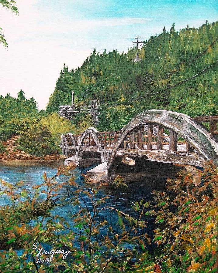 Salmonier River Newfoundland Painting
