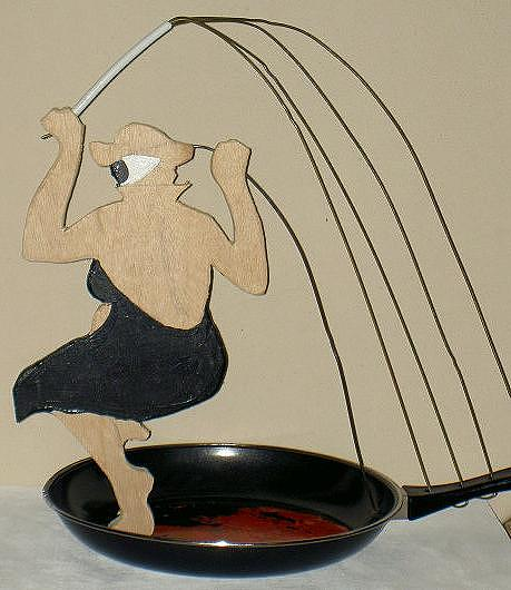 Cut-out Sculpture - Salome by David G Wilson