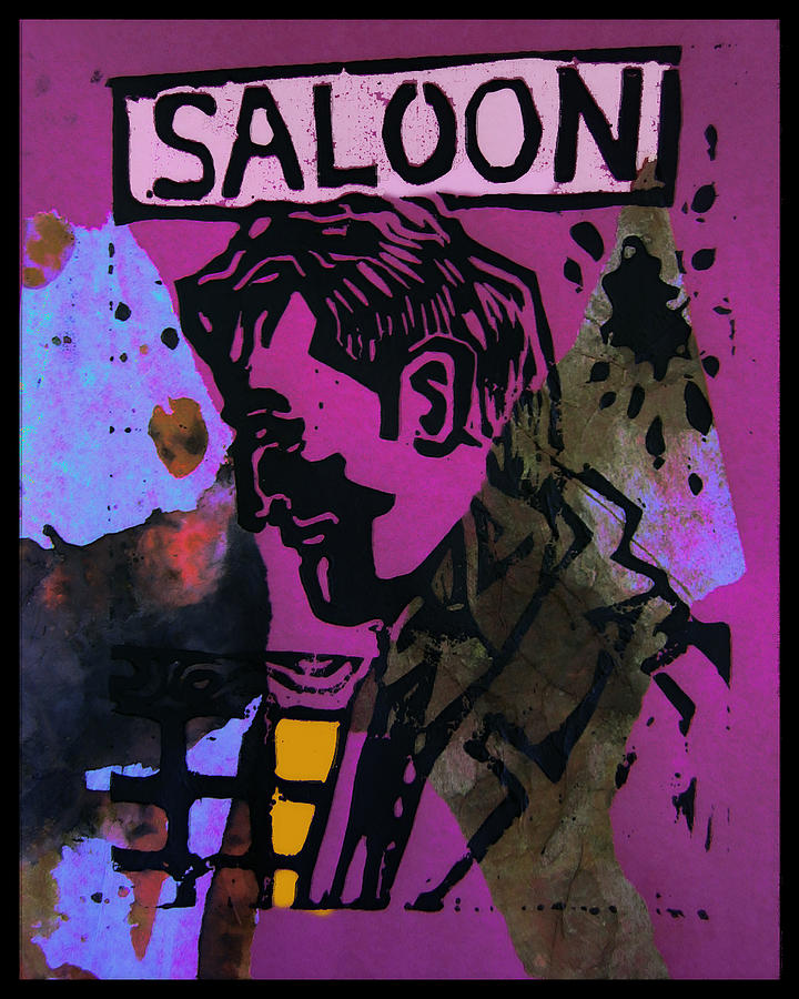 Saloon Mixed Media - Saloon 1 by Adam Kissel